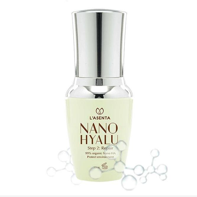 Serumc ấp nước Nano Hyalu dịu nhẹ sử dụng cho da làn da nhạy cảm