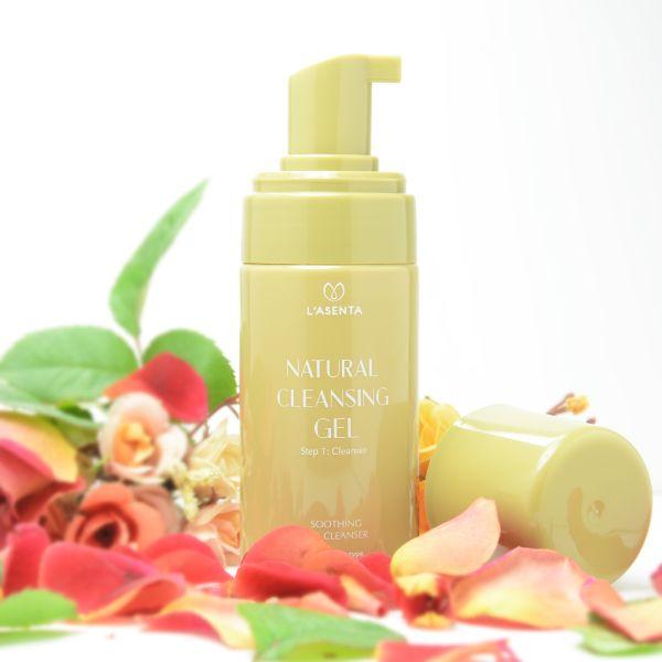 Sữa rửa mặt Natural Cleansing gel chinh phục da nhạy cảm ngay lần đầu tiên.