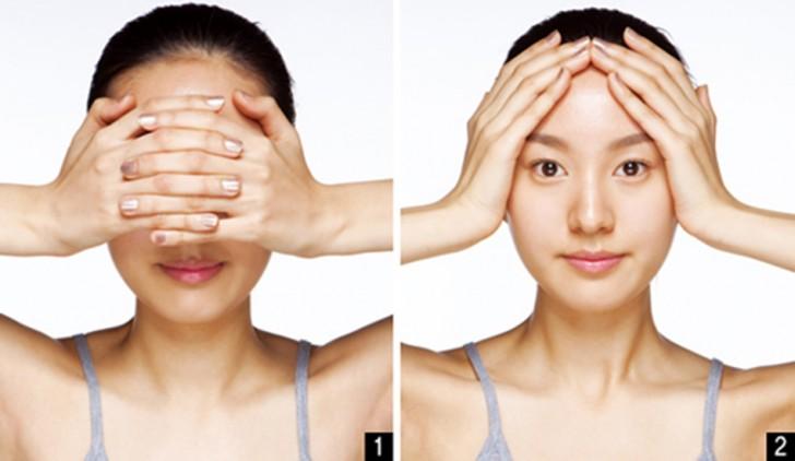 Massage xóa nếp nhăn dễ dàng áp dụng ngay tại nhà.